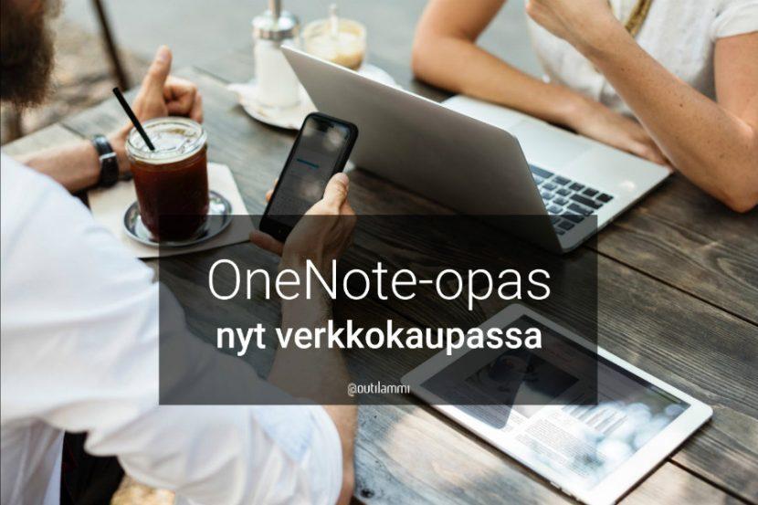 OneNote-opas nyt verkkokaupassa.
